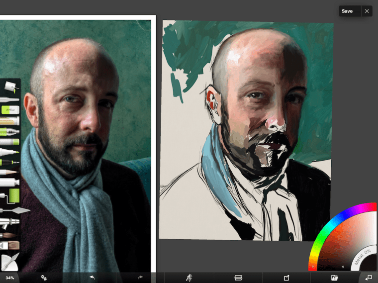 7 Portrait Painting Tips From The #30faces30days Challenge