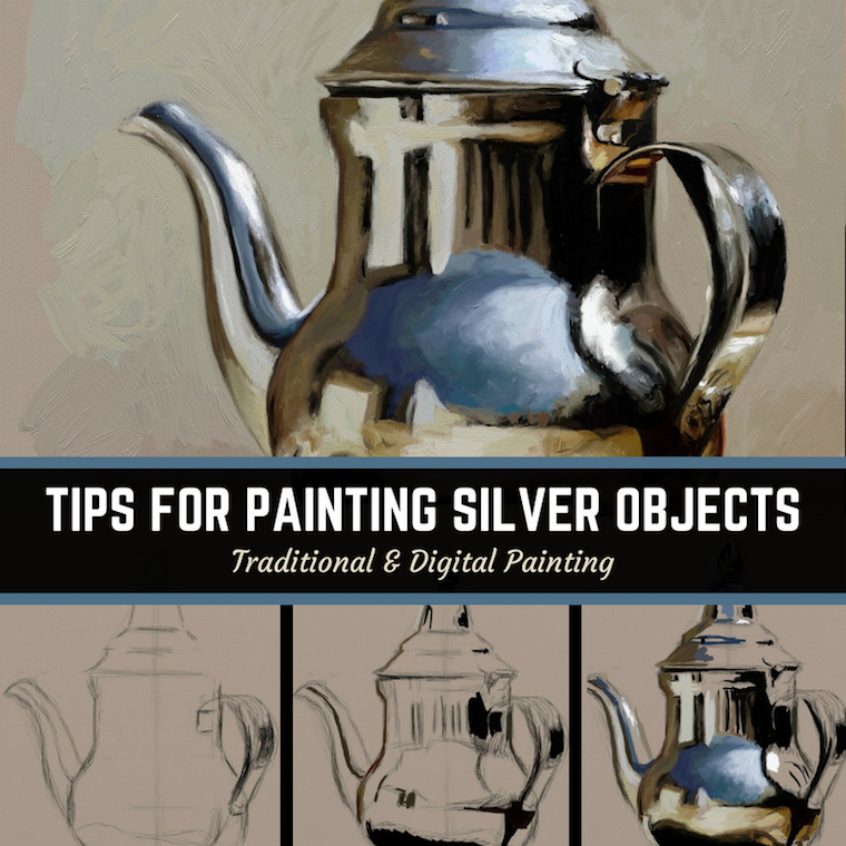 Tips for painting shiny objects