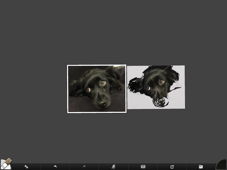 step 7 8 tips for painting black fur traditionally and digitally ArtRage step-by-step tutorial