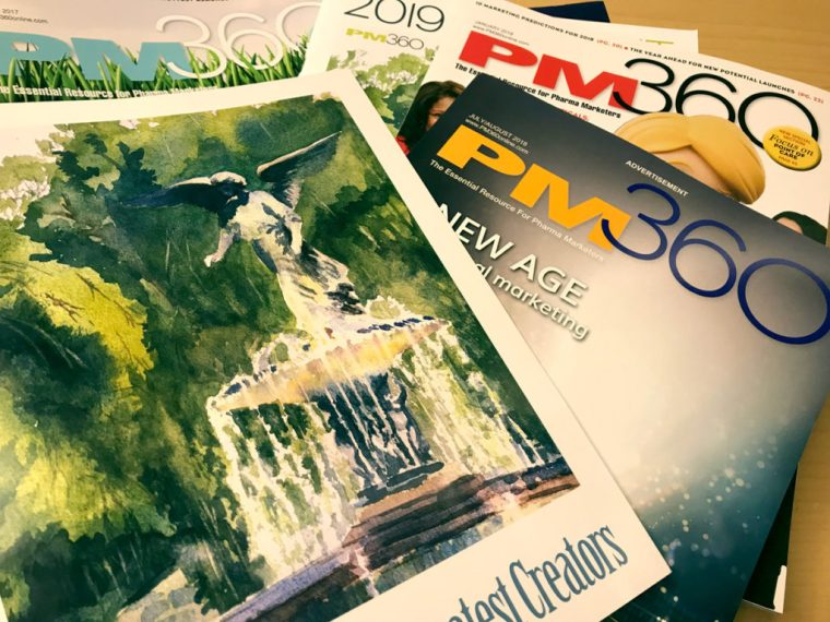 PM360 Magazine covers greatest creators
