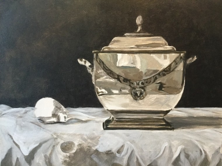 Value study for still life painting