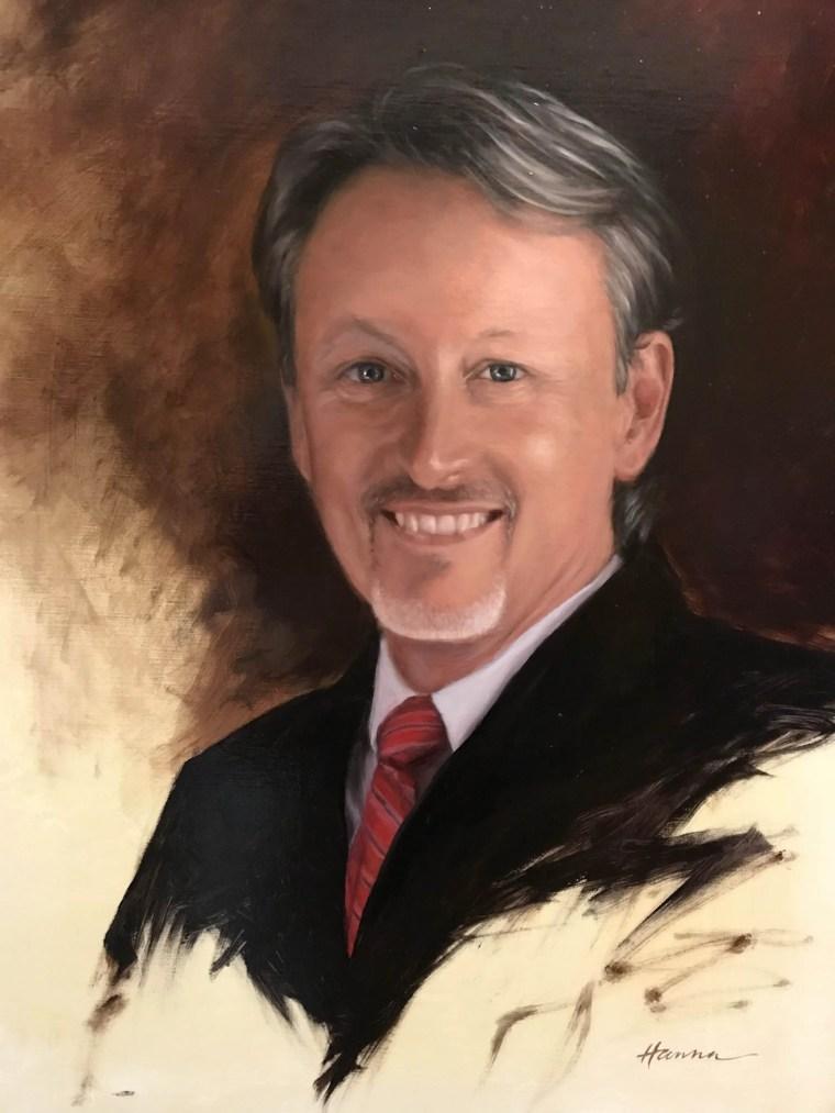Final portrait Dr. Claude Pressnell