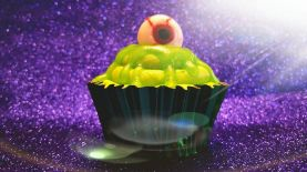 Chocolate Monster Cupcakes