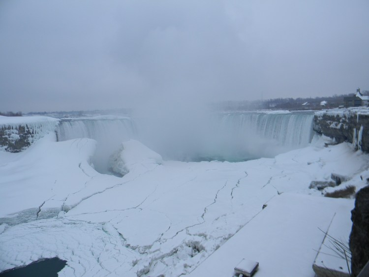 The Canadian Horseshoe Falls - March 2014