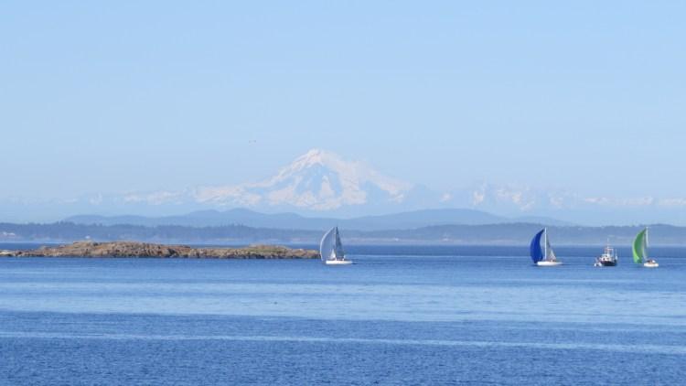 An ocean view as seen from Oak Bay Beach House (Photo by Wayne Kassian)