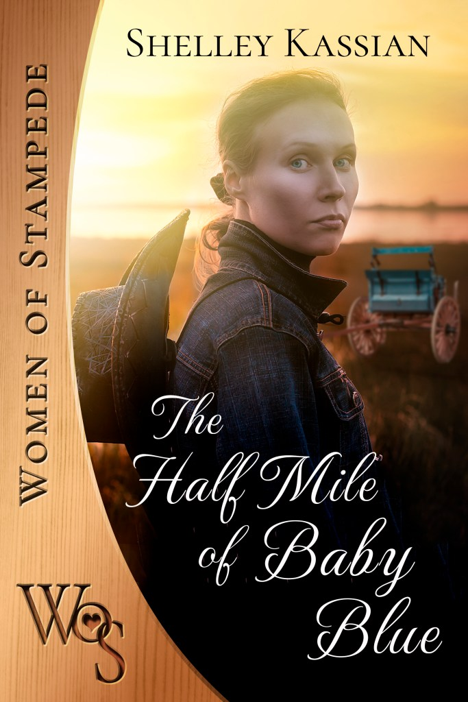 Book Cover: The Half Mile of Baby Blue