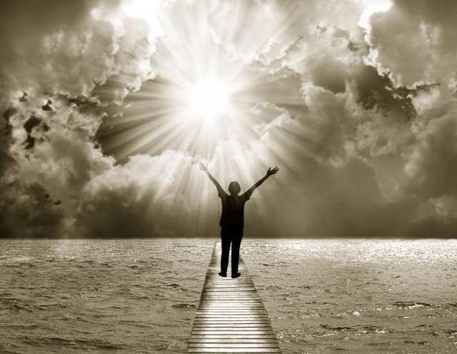 Surrender and let go of your burden