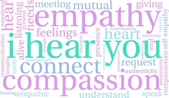 Learning to respond and not react active listening