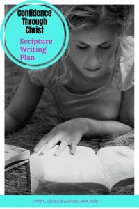You are not enough - Scripture Writing plan
