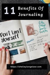 11 benefits of journaling
