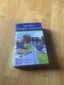 Amish cozy mystery murder simply stitched