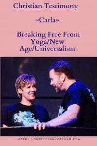 Christian Testimony - freedom from yoga and new age