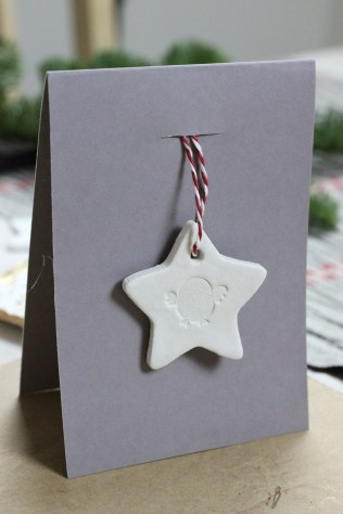Clay Ornament Card