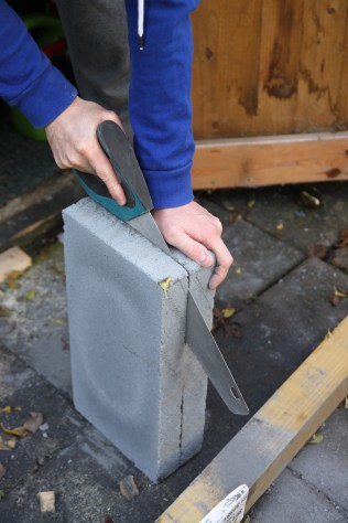 Sawing Tombstone   Shelley Makes