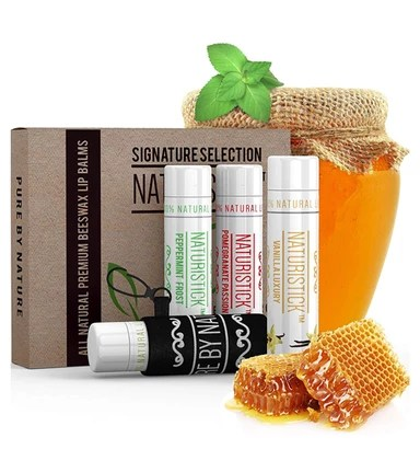 Naturistick Beeswax Chapstick Products