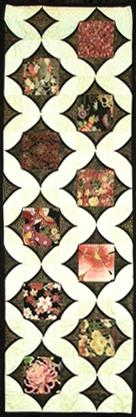 Oriental Table Runner by Nancy Payne