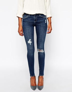 Image 1 ofRiver Island Amelie Authentic Wash Jean