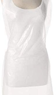 Disposable Aprons White