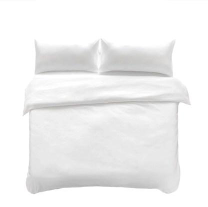 Hypoallergenic, microfibre duvet and pillow protectors