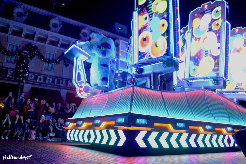 Hongkong Disneyland Character from Monsters Inc.