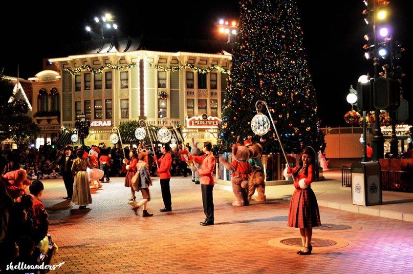 Hongkong Disneyland Night Entertainment
