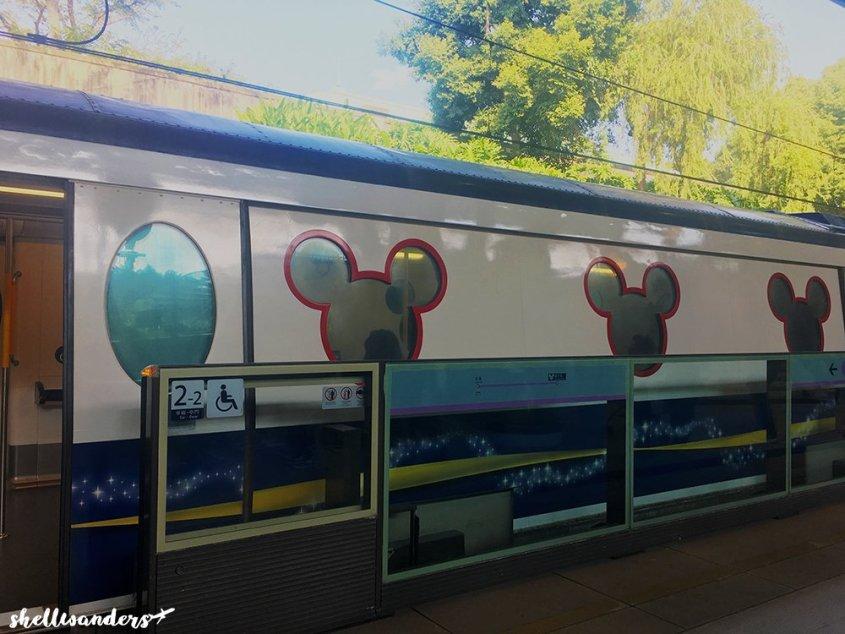 Hongkong Disneyland Train Mickey