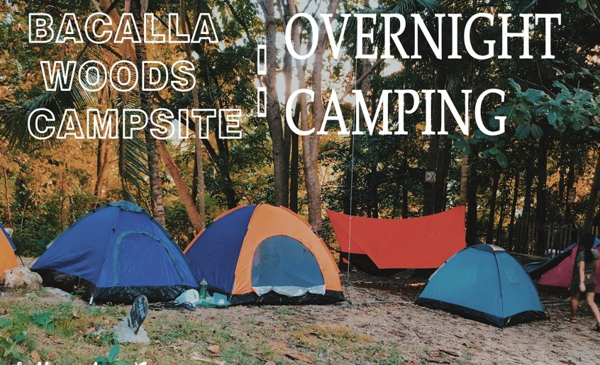 bacalla wood campsite overnight camping