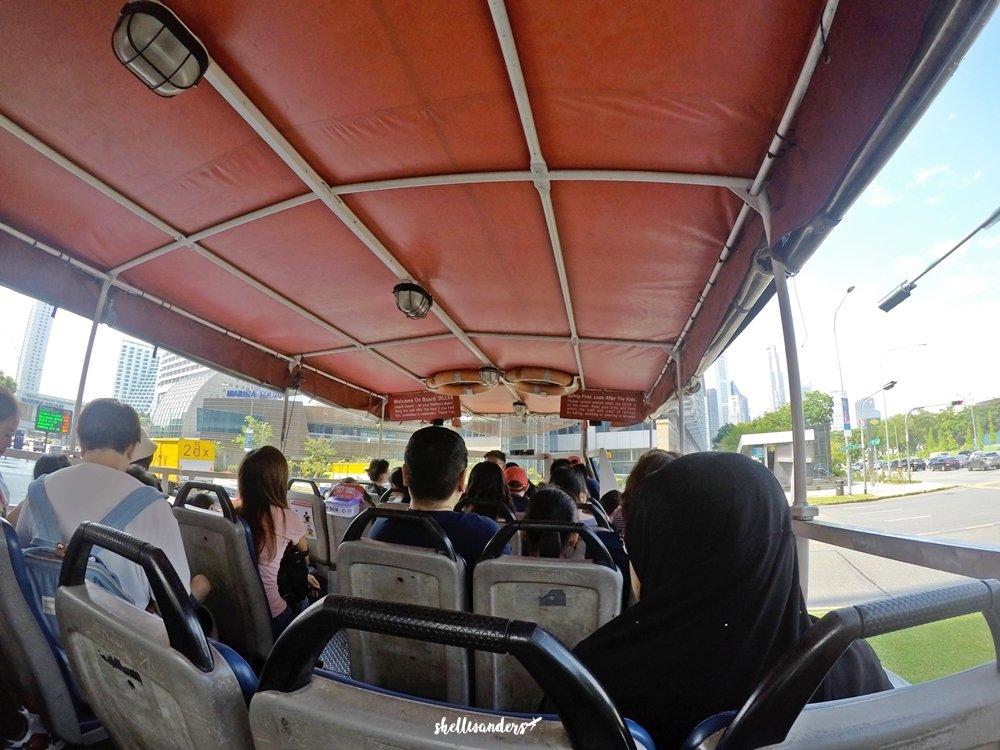 Original Ducktours Singapore - Amphibian Vehicle