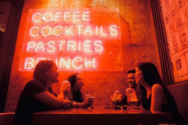 Bicester Cafe LED Signs