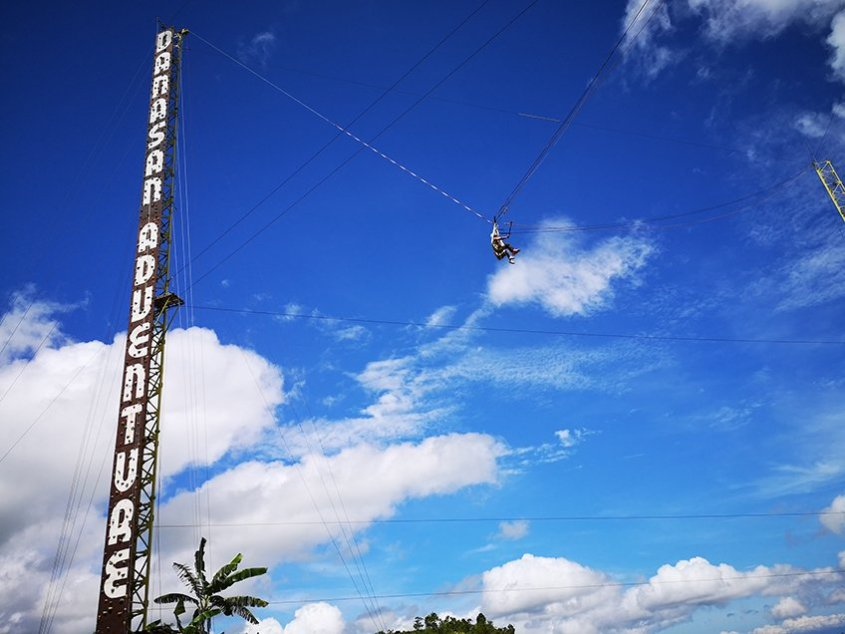 Sky drop. Can you handle this?