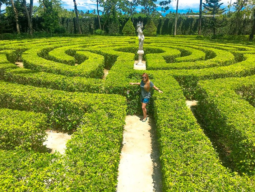 Maze Garden and Musuem at Toledo City, Cebu