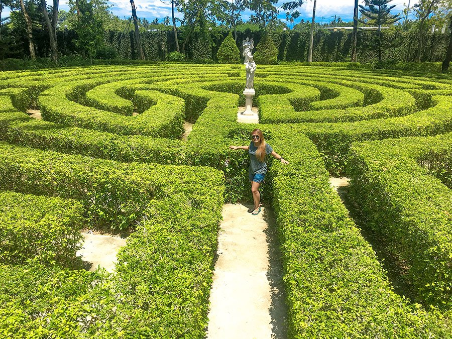 Maze Garden and Musuem at Toledo City, Cebu