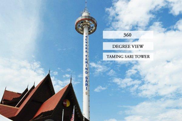 Taming Sari Tower -Experience a Panoramic View of Melaka, Malaysia