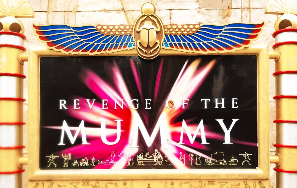 UNIVERSAL STUDIOS SINGAPORE REVENGE OF THE MUMMY 3