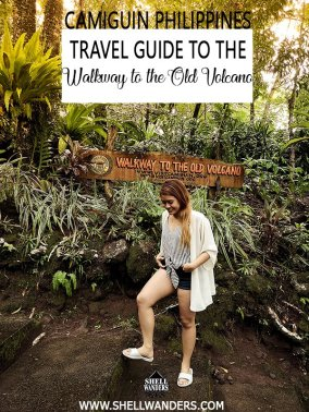 travel guide to the walkway to the old volcano