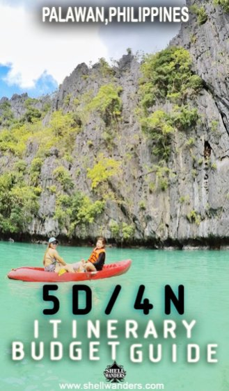 PALAWAN PHILIPPINES ITINERARY AND BUDGET GUIDES 2