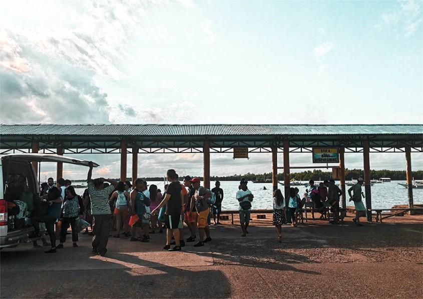 sta. lourdes wharf honda bay palawan