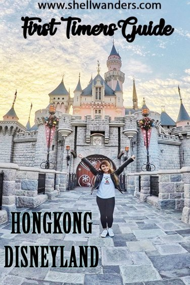 FIRST TIMERS GUIDE TO HONGKONG DISNEYLAND