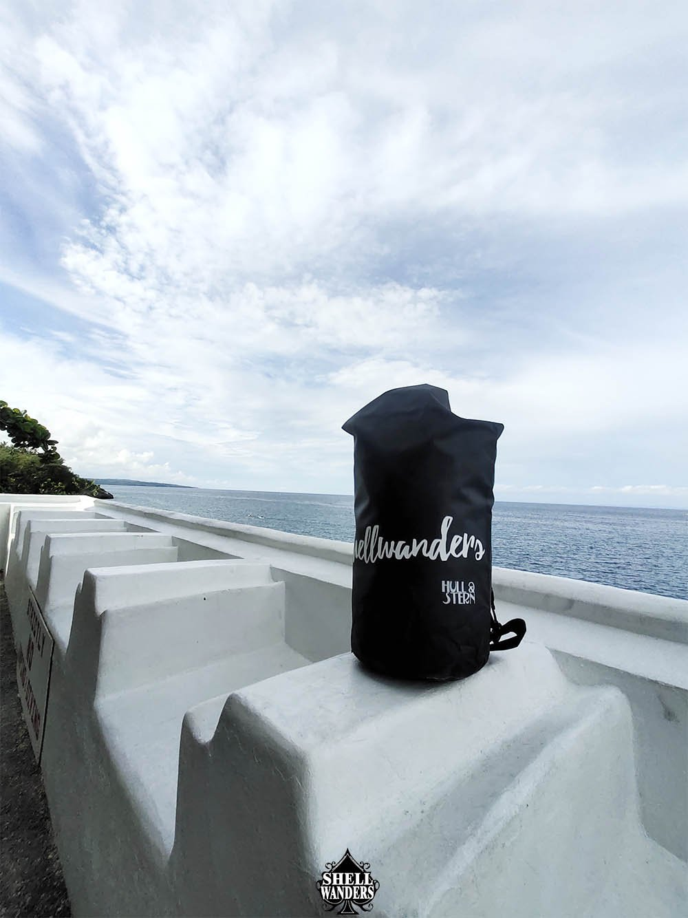 Hull Stern Dry Bag Black