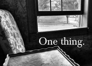 one thing - Copy
