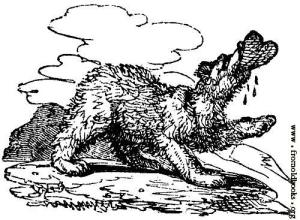 Source: www.fromoldbooks.org  Eat those bad plots, wolfy!!