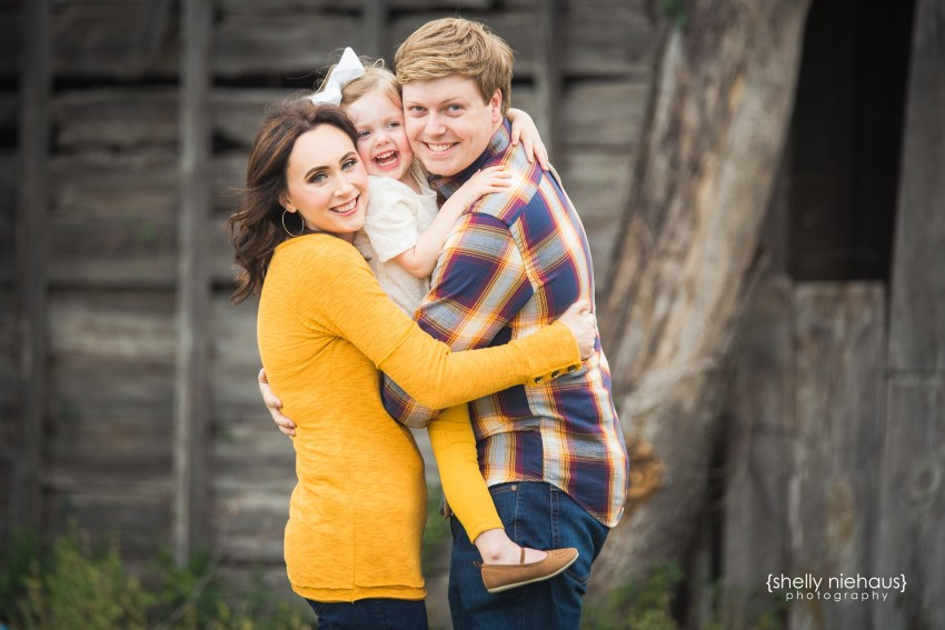 Mom + Dad + Baby Girl In The Country {Lifestyle Family Photographer|Celina, TX}