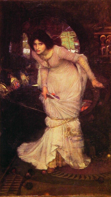 The Lady of Shallott John William Waterhouse