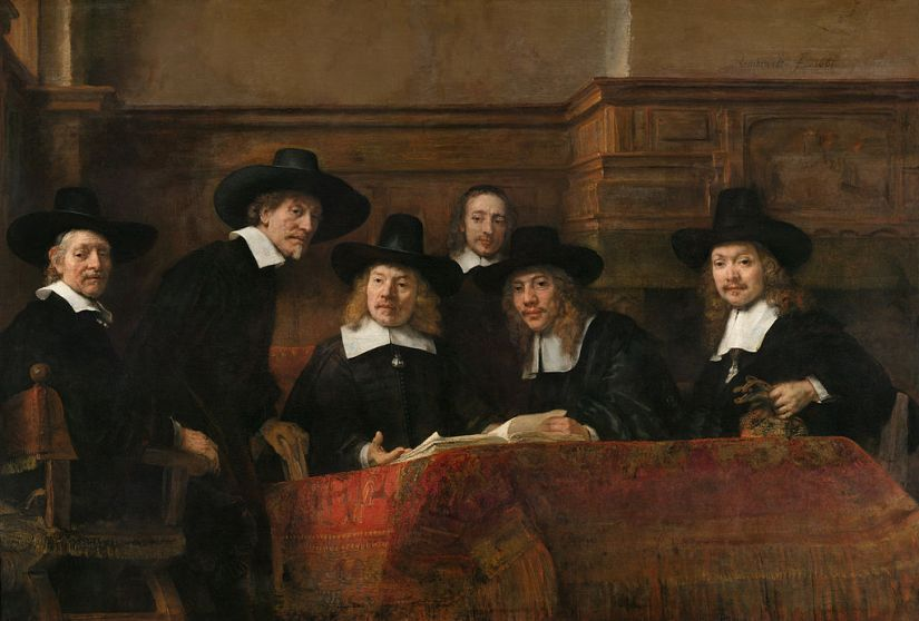 The Syndics Rembrandt