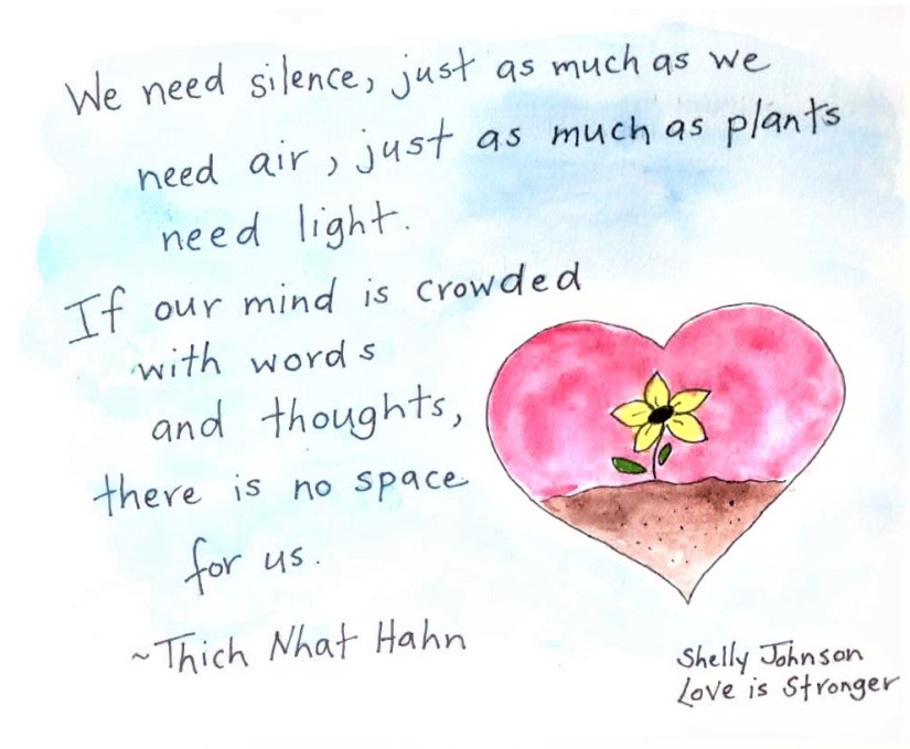 Silence Quote--Thich Nhat Hanh (2)