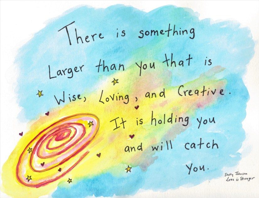 Something Loving is Holding You