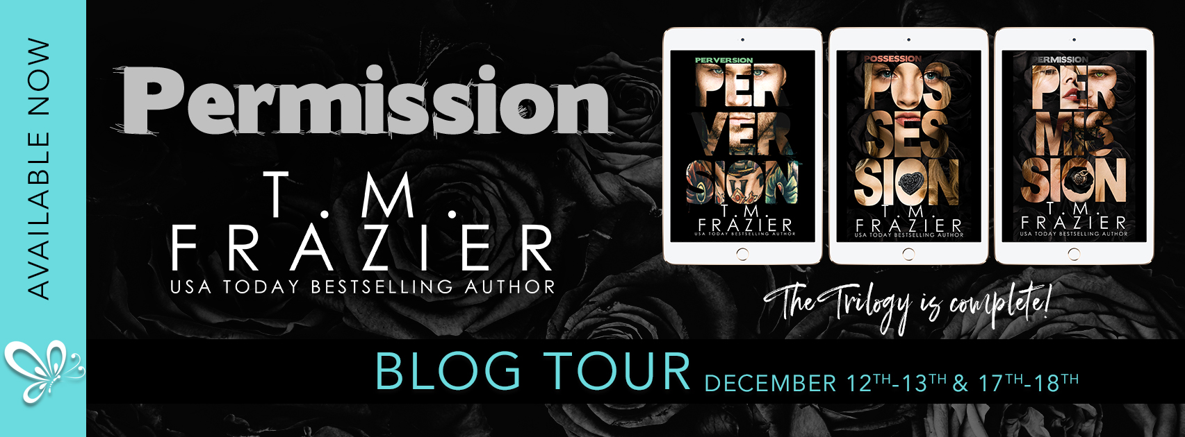 Blog Tour+Review: Permission by T.M. Frazier