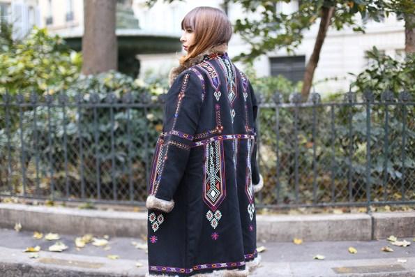 manteau antik batik, manteau hendrix, georgia rose boots, mohekann, anne thomas, look, outfit