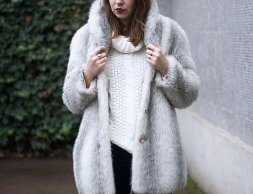 timezone, veste doudou fake fur, boots cos