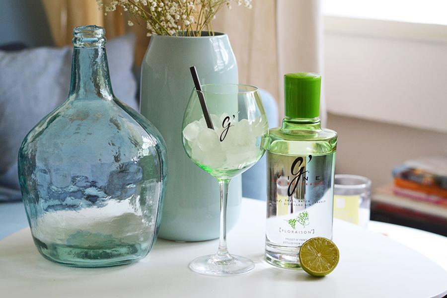 gvine, gin, français, spiritueux, alcool, cocktails, basilic, gin tonic